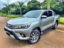 Toyota Hilux 2018 SRX 2.8 Diesel / 57mil km / zerada tro.co e financio