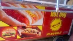 Carrinho hot dog