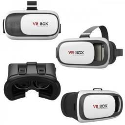 Oculos realidade virtual 3d vr box 2.0 controle bluetooth