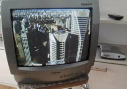 Tv semp 14 polegadas com controle