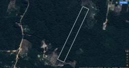 Terreno legalizado no ramal do Pau Rosa, 750m de fundos x 100m de frente