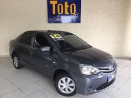 Toyota Etios Sedan  X 1.5 (Flex) ALCOOL MANUAL - 2014