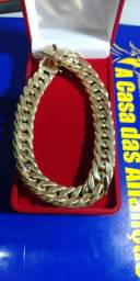 Pulseira ouro 18 kilates 16mm _ 36 Gramas
