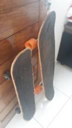 2 skate para vender junto 200 reais