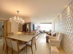 Apartamento todo projetado no Altiplano com uma linda vista para o mar, 3 quartos