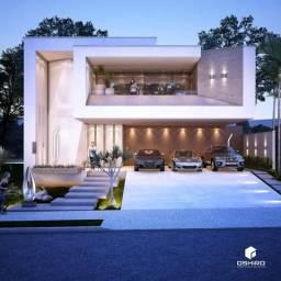 8443 | Casa à venda com 3 quartos em Ecoville, DOURADOS