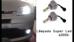 Lâmpada Farol Super Led Xenon 6000k 7600 Lumens comprar usado  Gravataí