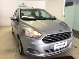 Ford-Ka SE 1.0 Flex Sedã Prata Completo 2015/15 - 2015