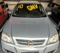 Astra sedan flex / gnv + completo + doc ok + zerado mesmo - 2010