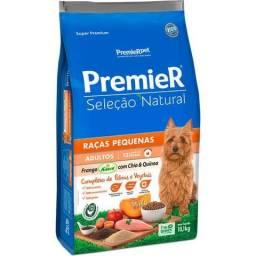 Ração Premier Pet Seleção Natural Frango Korin com Chia & Quinoa Cães Adultos Raças P