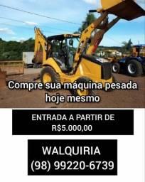 Máquinas pesadas construção e agrícola