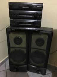 Vendo aparelho de som com caixas $150,00