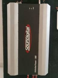 Módulo Amplificador Soundigital Unlimited Power