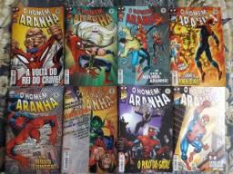 Coleção Gibis Homem-Aranha