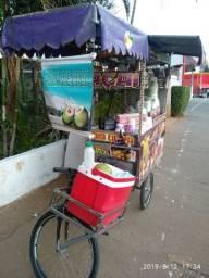 Carrinho bike triciclo food