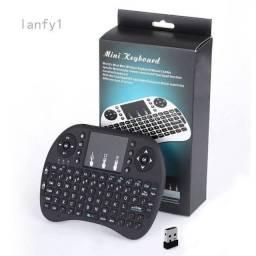Mini teclado Wireless entrego aceito cartão
