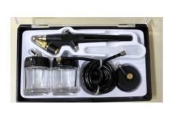 Kit Aerografo Para Pintura Hobby V8 Brasil