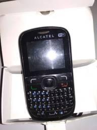 Celular Alcatel 639d Dois Chips Usado Bom E Barato