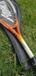 Raquete de Squash Adams Alumínio Leve + Capa - Super preço