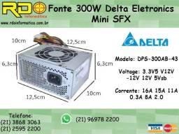 Mini Fonte Atx Delta Dps-300AB-9 300w Kmex Positivo hp Dell