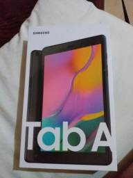 Tablet A Samsung na caixa