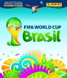 Álbum copa do mundo Brasil 2014