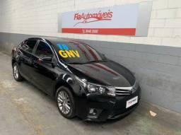 Corolla XEI automático 2016 com GNV