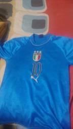Camiseta seleção Itália tamanho M