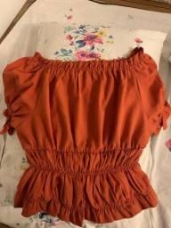 Título do anúncio: blusa laranja