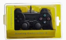 Vendo Controle de Play 2,com fio e Acessórios