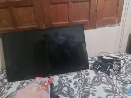 Tv smatt sansung usada em  perfeito estado pega tudo perfeito
