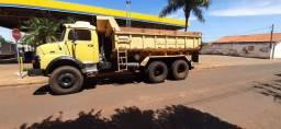 Caminhão caçamba truck mb 1513ano 1981 cara preta