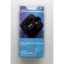 (WhatsApp) hub usb 2.0 com 4 portas usb kp-t122