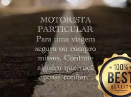 Título do anúncio: Motorista particular para viagens,festas,consultas médicas e outros compromissos.