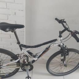 Título do anúncio: Bike houston Preta degrade branca