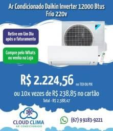 Título do anúncio: Ar Condicionado Daikin Inverter 12mil Btus