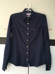 Título do anúncio: Camisa original DUDALINA azul