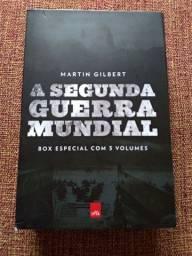 Título do anúncio: Box a segunda guerra mundial de Martin Gilbert