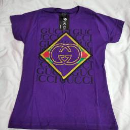 Título do anúncio: Camisas femininas, masculinas e bonés