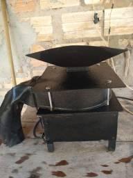 Máquina de descasca castanha do Pará