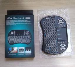 Mini Teclado Controle Sem Fio Para Smart Tv Tv Box Pc (novo zero)