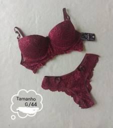 Conjunto Lingerie Tamanho G/44