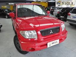 Mitsubishi - Pajero TR4 Vermelha 2004 Completa 4x4