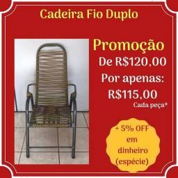 Cadeira Fio duplo em promoção!
