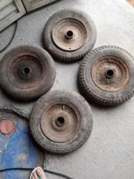 roda de carinho de carga