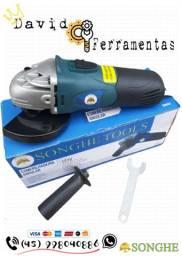 """Esmerilhadeira Angular 650w 115mm Hobby 110v """"NOVA"""""""