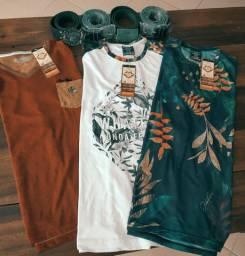 T shirts Fem e Camisetas Masculinas