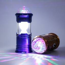 Lampião Lanterna Bola Led Retrátil Recarregável Bivolt Usb BL-5801