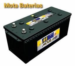 Bateria de caminhão usada 150 ah à base de troca 03meses de garantia
