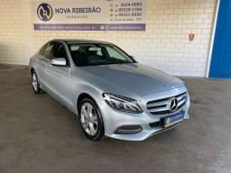 Título do anúncio: Mercedes C 180 Prata BAIXO KM